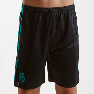 adidas Unisex Real Madrid 17/18 Youth Away Football Shorts Pants Sport Training