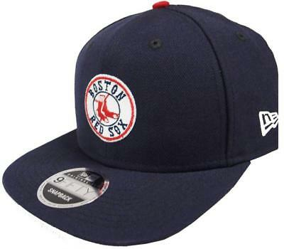 New Era Boston Red Sox Cooperstown Classics Navy Snapback Cap 9fifty 950 Limited