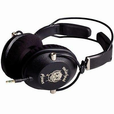 Motorheadphones MOTORIZER Over-Ear TURNABLE DJ Style Cuffie Nere