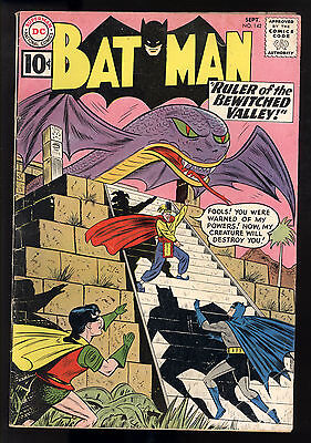 Batman (1940) #142 1st Print  Bewitched Valley Robot Guardian Shelly Moldoff GD+