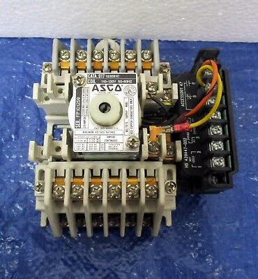 ASCO 917 122031C Lighting Contactor 20 Amp 12‑POLE 120V Coil w/ HS 429447-002