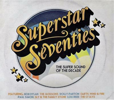 SUPERSTAR SEVENTIES - THE SOUND OF THE 70s - VARIOUS ARTISTS (NEW SEALED 3CD)