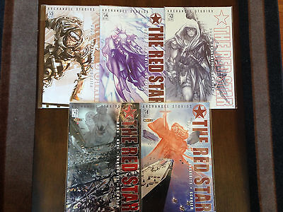 The Red Star Comic Set #1-5 Near Mint Volume 2 Archangel Studios