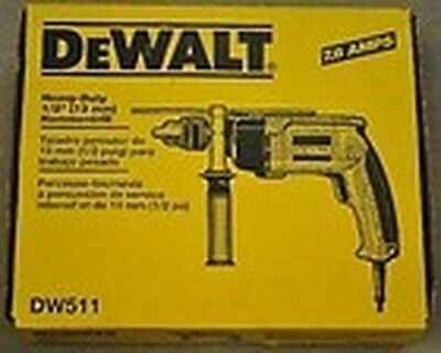 "New Dewalt Dw511 1/2"" Electric Vsr 6.7 Amp Hammer Drill New In Box Sale Price"