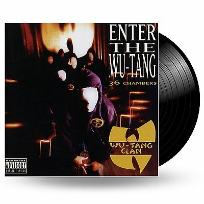 WU-TANG CLAN Enter The Wu-Tang Clan 36 Chambers Vinyl LP NEW & SEALED