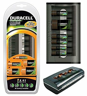 Duracell Rechargeable Multi Charger Cef22Uk (New And Sealed) Aa/aaa/c/d/9V