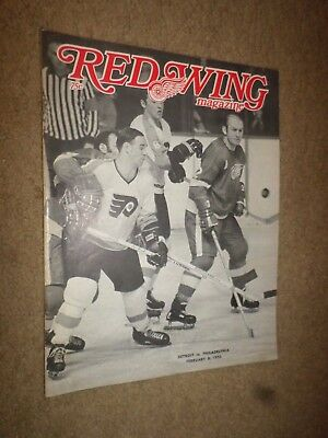 """1970 """"Red Wing Magazine"""" Detroit Hockey Challenger Charger Duster Cyclone Rivier"""