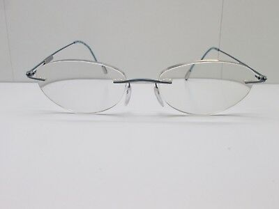ebcbc589a0 Silhouette 6601 6081 EYEGLASSES FRAMES 54-17-140 Rimless Drill Mount TV6  35813