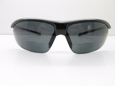 536bc4a03f4 Suncloud Zephyr Polarized SUNGLASSES +2.50 Readers 71-10-120 Black TV6 35361