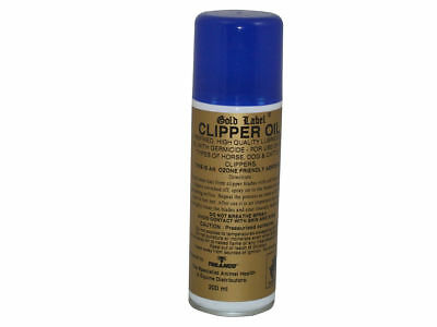 Gold Label Aerosol Clipper Oil Spray 200Ml