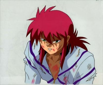 Yu Yu Hakusho Kurama Cel w/ Key Animation 222 Japan Anime Art Picture[711]