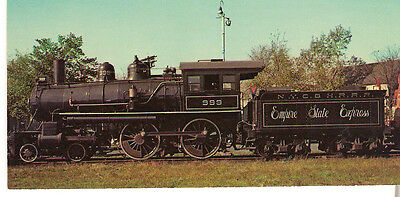 Empire State Express NY Central & Hudson River Railroad 4-4-0 No 999 Postcard