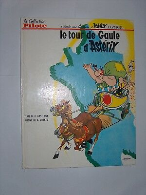 Goscinny Uderzo Collection Pilote Le Tour De Gaule D'asterix Eo Tbe Dos Blanc