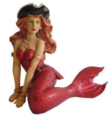 December Diamonds Scarlett Pirate Mermaid Large Figurine Sculpture 5590847 New