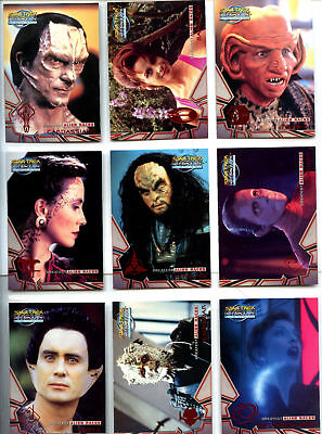 Deep Space Nine Memories From The Future Alien Races Ar1 To Ar9
