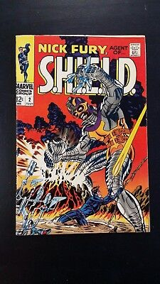 1968 Marvel Comics Nick Fury Agent Of Shield #2 Steranko Variant  Flat Rate S/h