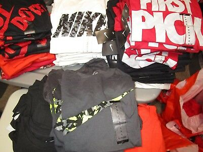 Huge Assortment Boy's Nike Graphic Kid's T-Shirt Variety Of Sizes And Colors Nwt