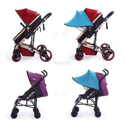 Universal Kids Baby Buggy Pushchair Canopy Stroller Carriage Sunshine Sun Cover
