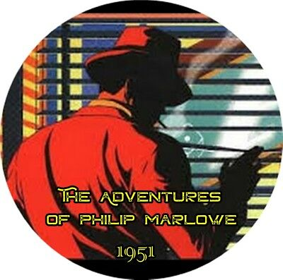 Adventures of Philip Marlowe / 1951 / Old Time Radio / MP3 REQUIRED CD