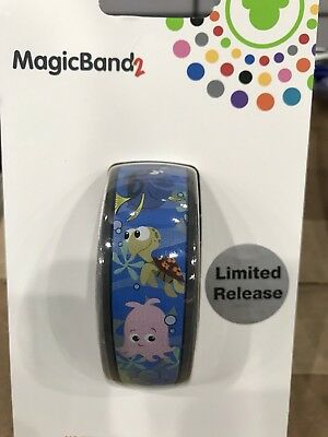 Disney EPCOT The Seas With Nemo & Friends Linkable Magic Band 2 MagicBand NEW