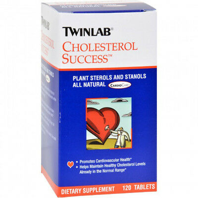 Twinlab - Cholesterol Success Cardiovascular Health Supplement - 120 Tablets