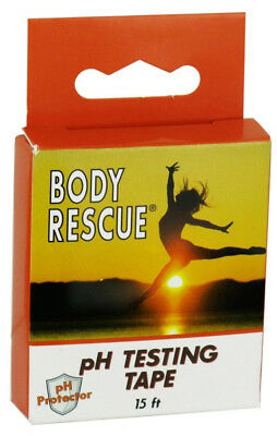 BODY RESCUE - pH Testing Tape - 15 ft Roll