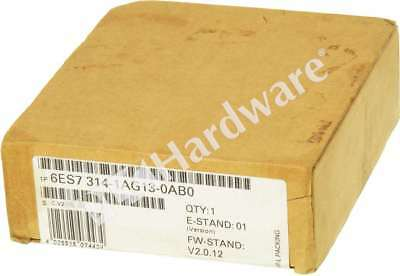 New Sealed Siemens 6ES7314-1AG13-0AB0 SIMATIC S7-300 CPU314 Controller MPI 96K