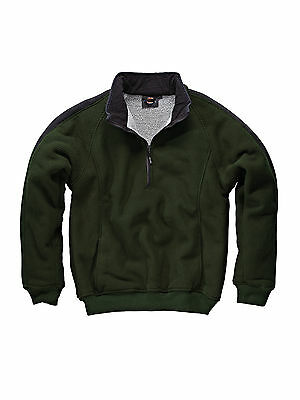 Dickies Eisenhower Fleece EH89000 olive Pullover half zip Fleecepullover