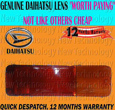 For Daihatsu Fourtrak Rocky F70/73/75/77/78/80/85 84>Rear Bumper Lamp Lens Light