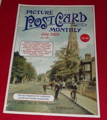 Picture Postcard Monthly Magazine No.291 July 2003