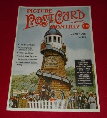 Picture Postcard Monthly Magazine No.206 June 1996