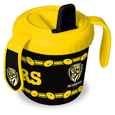 Richmond Tigers AFL Training Sipper Sippy Cup With 2 Easy Grip Handles Gift