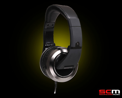 CAD MH510CR Stereo Headphones Chrome Closed Back Incredible Sound Performance
