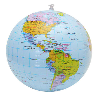 inflatable globe world earth ocean map ball geography learning educational toy