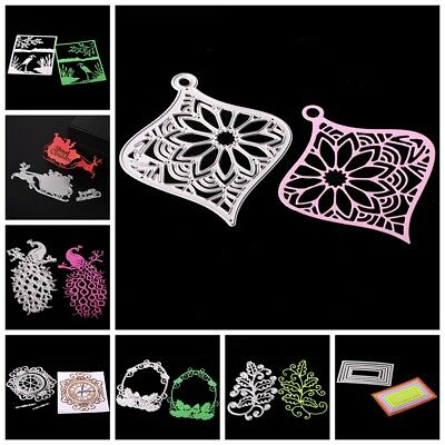 Embossing Stencils DIY Cutting Dies Scrapbooking Tagebuch Stanzschablone Decor