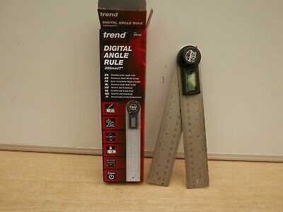 Trend Dar/200 400Mm ( 2 X 200Mm ) Digital Angle Finder Rule