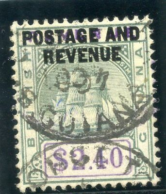 British Guiana 1905 KEVII $2.40c green & violet very fine used. SG 251. Sc 171.
