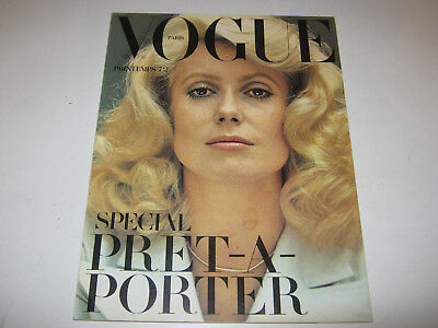 vpk / original VOGUE paris Nr. 523  Fevr. 1972 Models  Modefotografie (86.)
