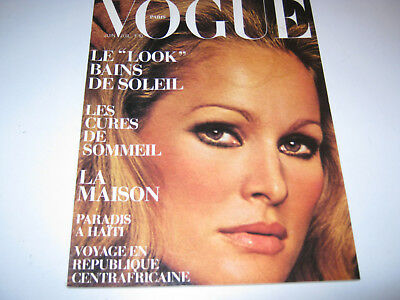 vpk / original VOGUE paris Nr. 527  J/J. 1972 Models  Modefotografie (87.)