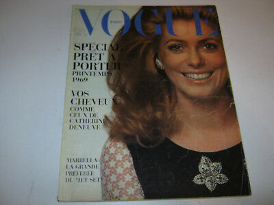 vpk / original VOGUE paris Nr. ....Fevr. 1969 Models Modefotografen (104.)