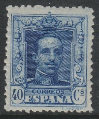 Spain - 1923, 40c Blue stamp - Perf 13 1/2 x 13 - L/M -SG 388