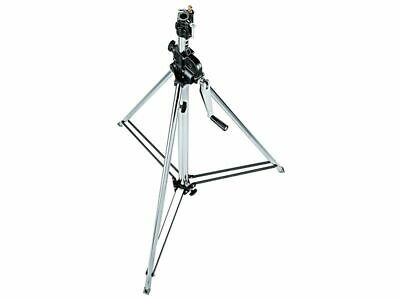 Manfrotto 083NW Stativ Wind-Up Silber 2-teilig