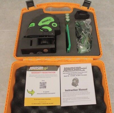 Johnson Self-Leveling Combination Laser 40-6688 - New Open Box!!
