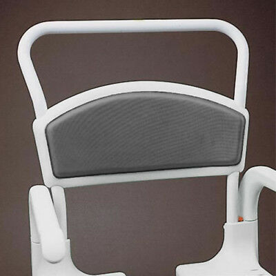 Clean Shower Commode Chair Heat Reflecting Back Pad - Grey