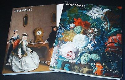 IMPORTANT OLD MASTER PAINTINGS: 2  Top-Kataloge Sotheby's N.Y. 12 +results