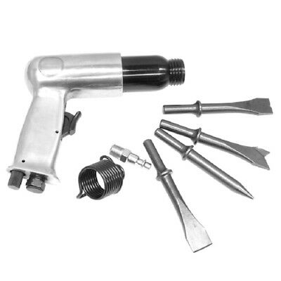 7pc Air Hammer & Chisel Set Kit 150MM Impact Punch Auto Body FREE SHIPPING NEW
