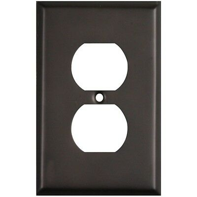Single Duplex Wall Plate Oil Rubbed Bronze Pack Of 4