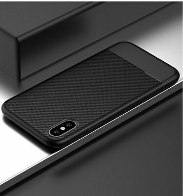 Luxury Carbon Fiber Case For iPhone 8 Soft Thin Slim Cover For Apple iPhone 7 X