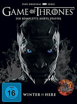 Game Of Thrones 7 Die Komplette Dvd Staffel Season 7 Deutsch Neuware / Ovp