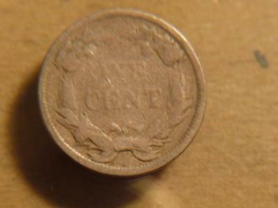 1858 Flying Eagle Cent Small Letters, Good Condition...SKU#12406